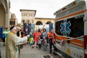 benedizione ambulanza